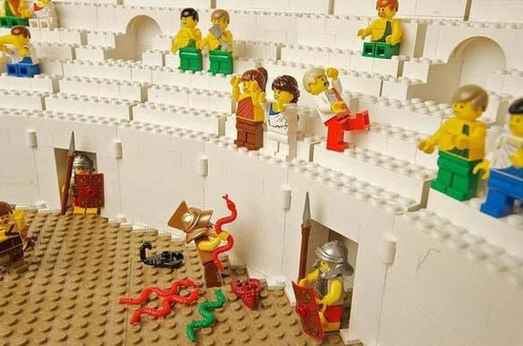 Εκπληκτική ρέπλικα του Κολοσσαίου από Lego (8)