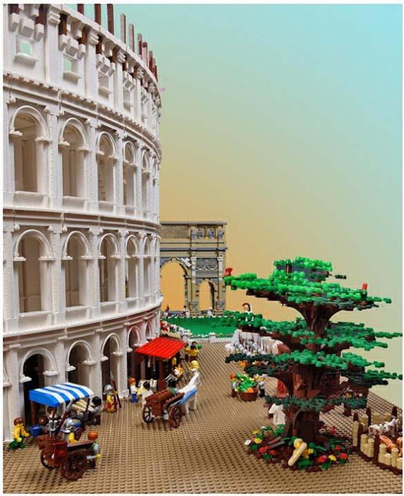 Εκπληκτική ρέπλικα του Κολοσσαίου από Lego (10)