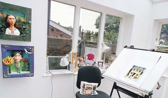 Εντυπωσιακά γραφεία στο σπίτι (11)