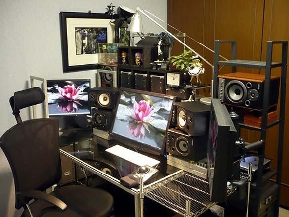 Εντυπωσιακά γραφεία στο σπίτι (15)