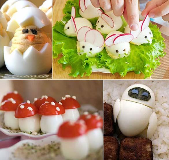 Εντυπωσιακές δημιουργίες με βραστά αβγά (1)