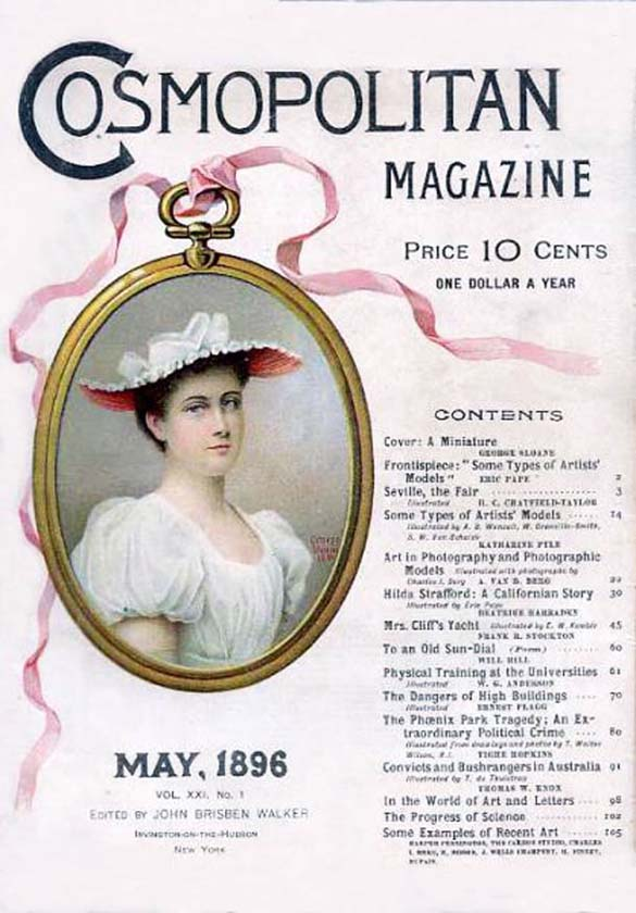 Η εξέλιξη του Cosmopolitan από το 1896 μέχρι σήμερα (1)