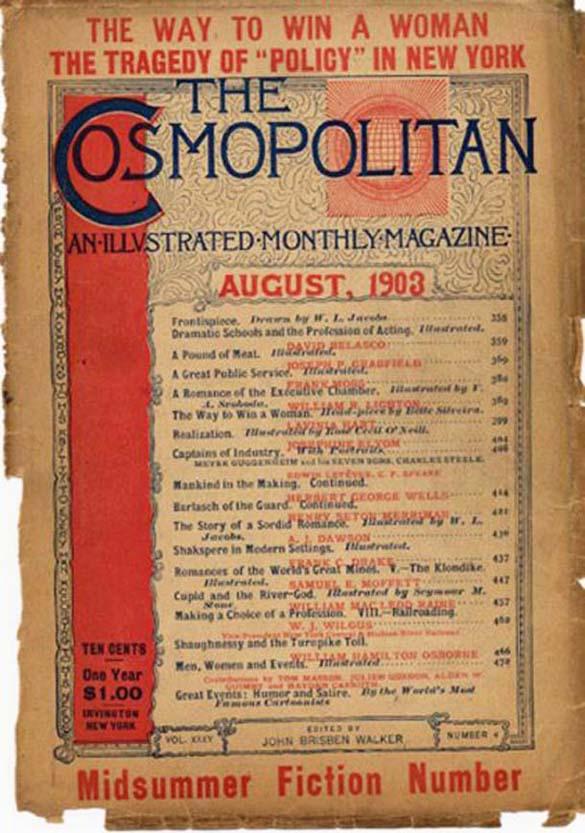 Η εξέλιξη του Cosmopolitan από το 1896 μέχρι σήμερα (2)