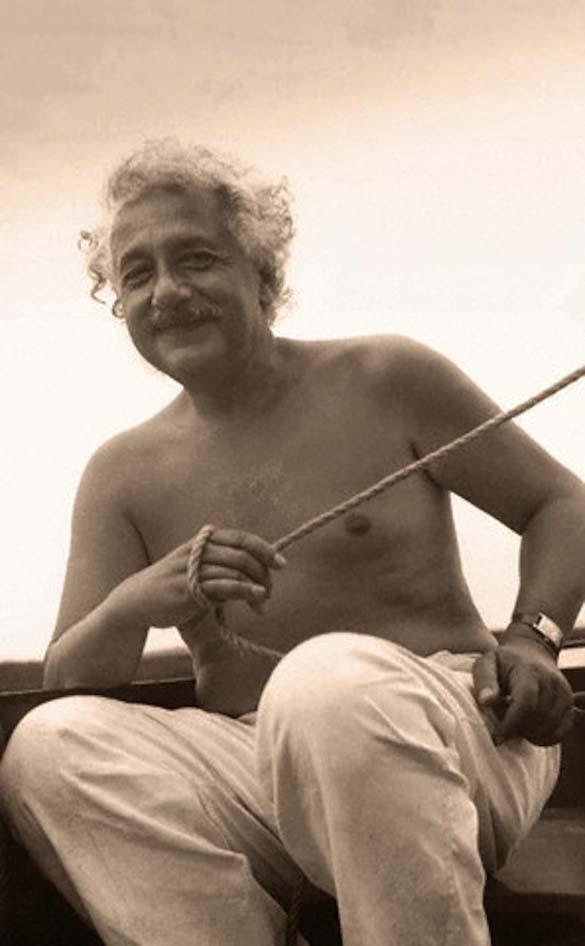 Φωτογραφίες του Albert Einstein όπως δεν τον έχουμε συνηθίσει (1)