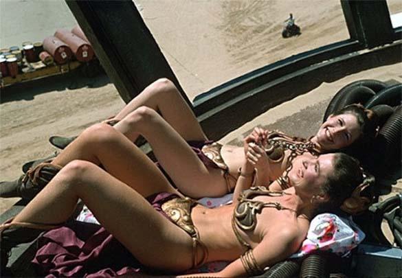 Σπάνιες φωτογραφίες από τα παρασκήνια γνωστών ταινιών (24)