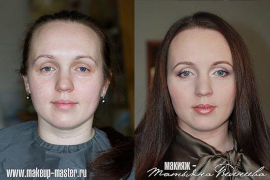 Γυναίκες με / χωρίς μακιγιάζ (2)
