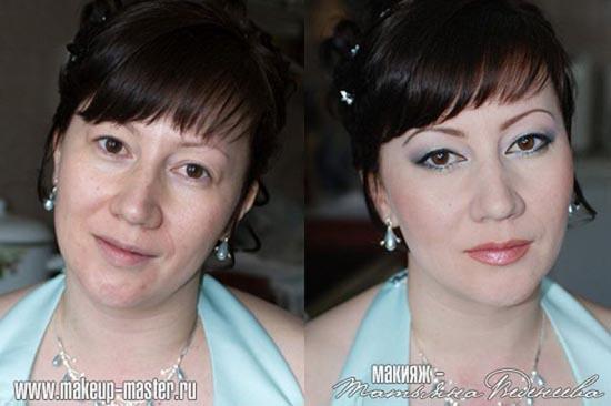 Γυναίκες με / χωρίς μακιγιάζ (5)