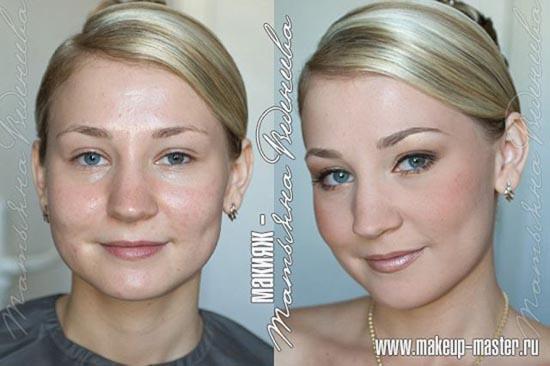 Γυναίκες με / χωρίς μακιγιάζ (13)