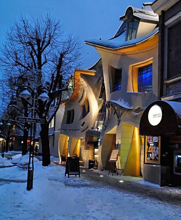Krzywy Domek: Ένα από τα πιο παράξενα κτήρια στον κόσμο (8)