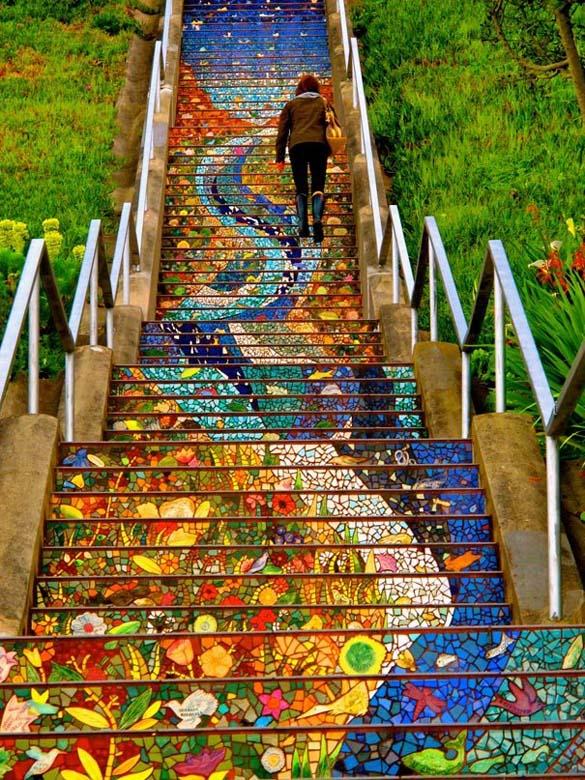 Μια ξεχωριστή σκάλα στο San Francisco (2)