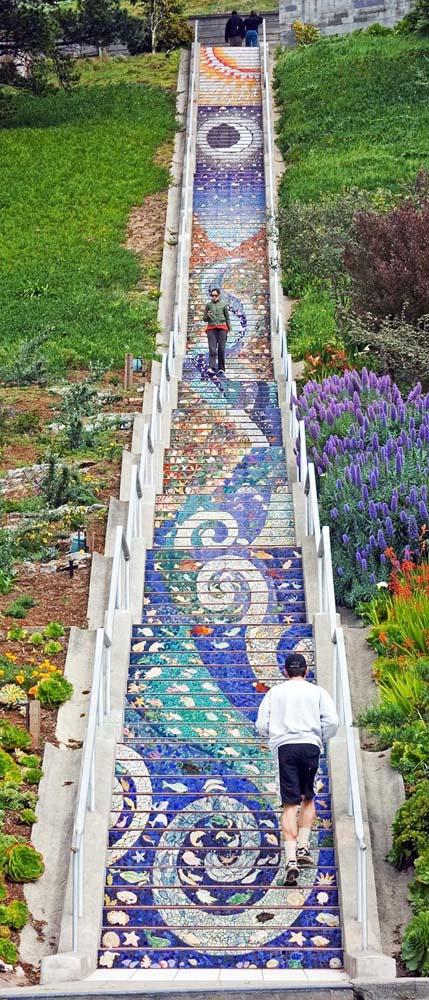 Μια ξεχωριστή σκάλα στο San Francisco (3)