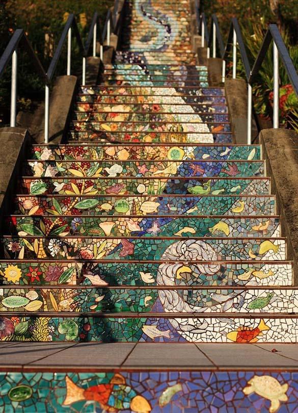 Μια ξεχωριστή σκάλα στο San Francisco (4)