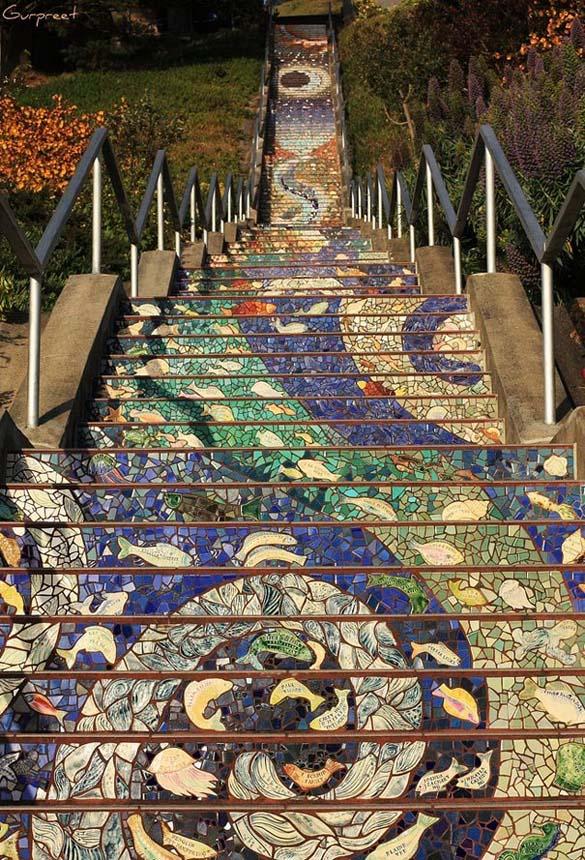 Μια ξεχωριστή σκάλα στο San Francisco (6)