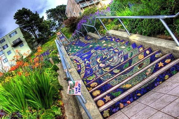 Μια ξεχωριστή σκάλα στο San Francisco (8)