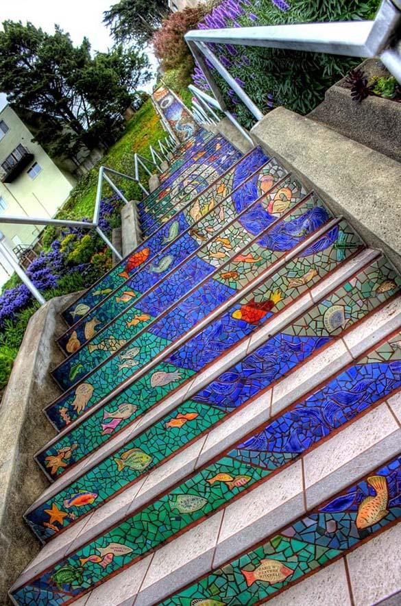 Μια ξεχωριστή σκάλα στο San Francisco (9)