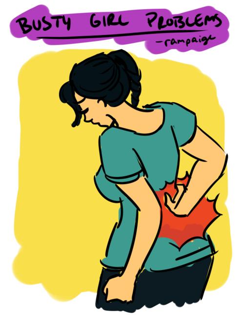 Μεγάλο στήθος - Μεγάλα προβλήματα (1)
