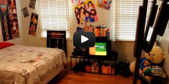 Μετέτρεψε το δωμάτιο του σε χρονομηχανή των 90s