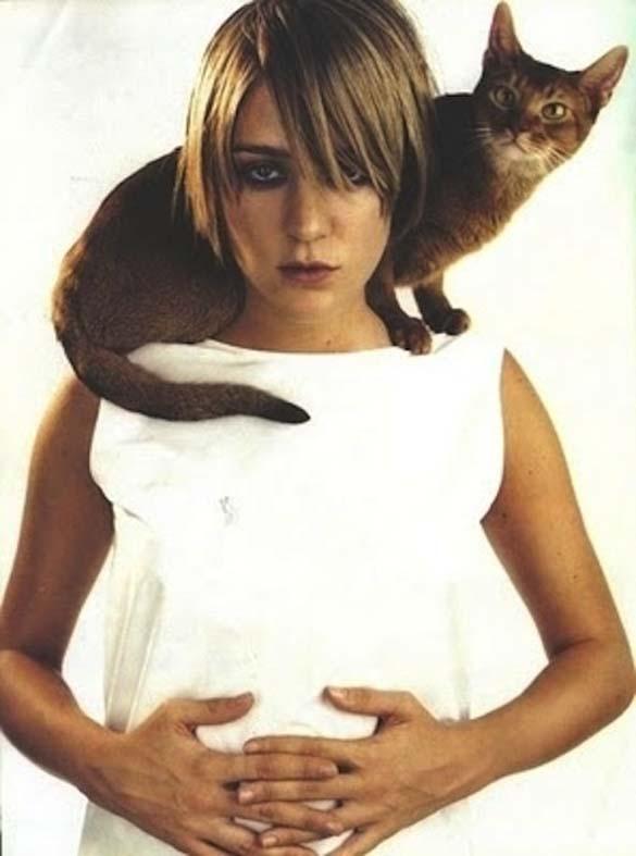 Παράξενα πορτραίτα διασήμων με γάτες (4)