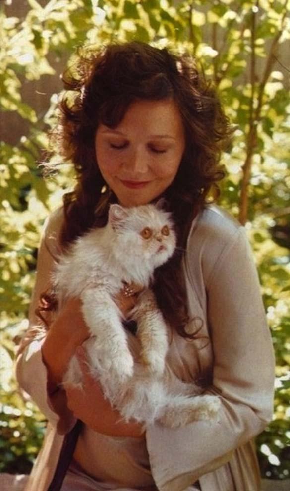 Παράξενα πορτραίτα διασήμων με γάτες (17)