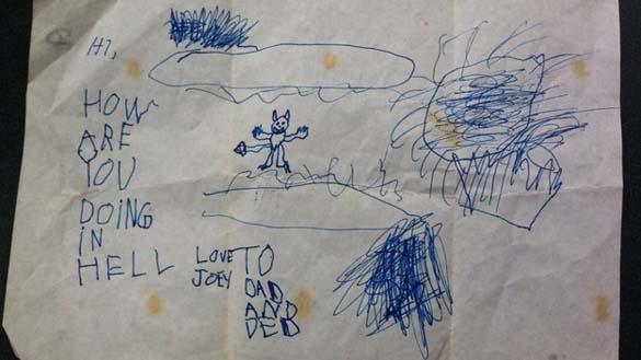 Παράξενες και εκκεντρικές ζωγραφιές από παιδιά (3)