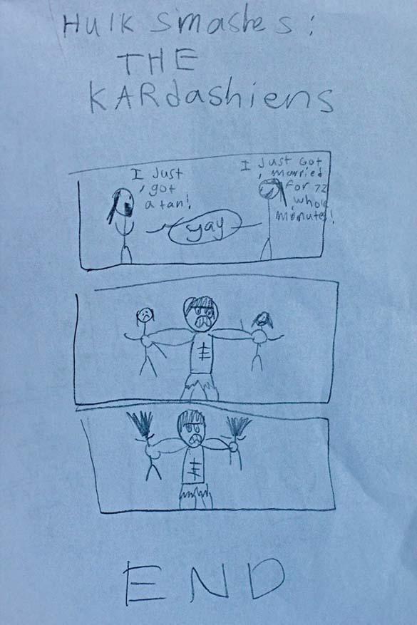 Παράξενες και εκκεντρικές ζωγραφιές από παιδιά (5)