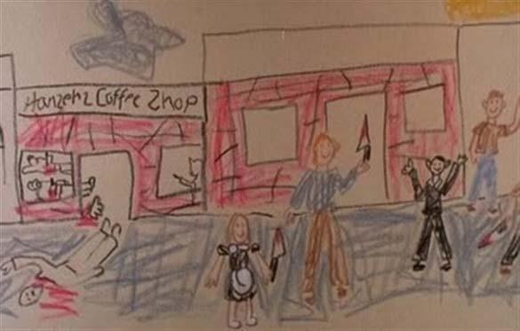 Παράξενες και εκκεντρικές ζωγραφιές από παιδιά (11)