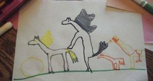 Παράξενες και εκκεντρικές ζωγραφιές από παιδιά