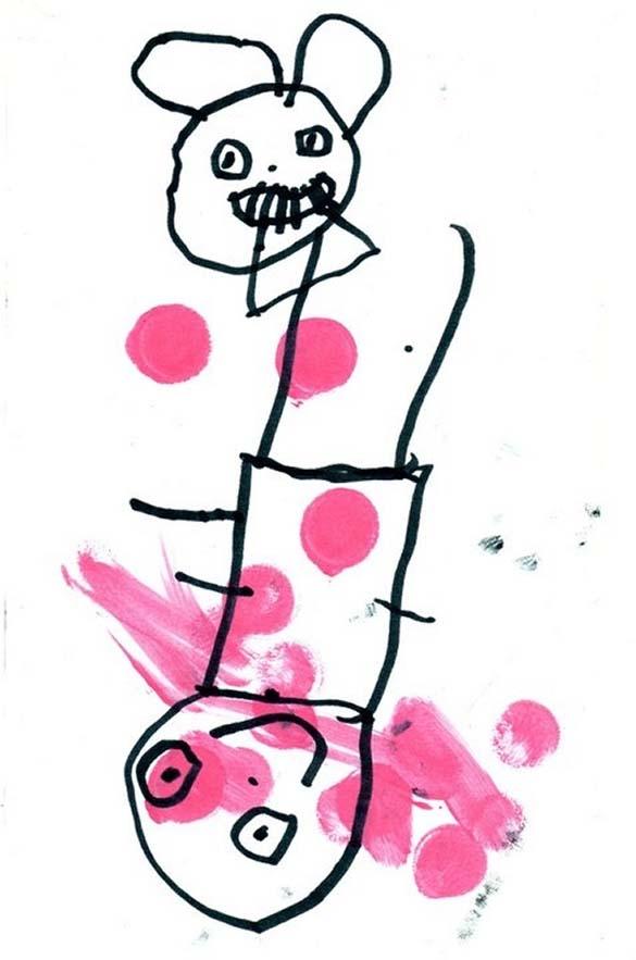 Παράξενες και εκκεντρικές ζωγραφιές από παιδιά (20)
