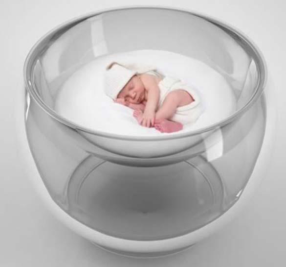Παράξενες και εντυπωσιακές κούνιες για μωρά (7)