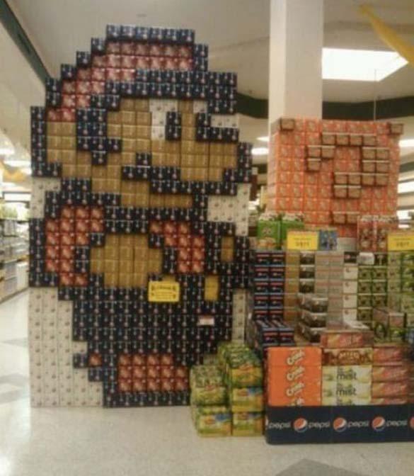 Παράξενες στιγμές στο Supermarket (8)