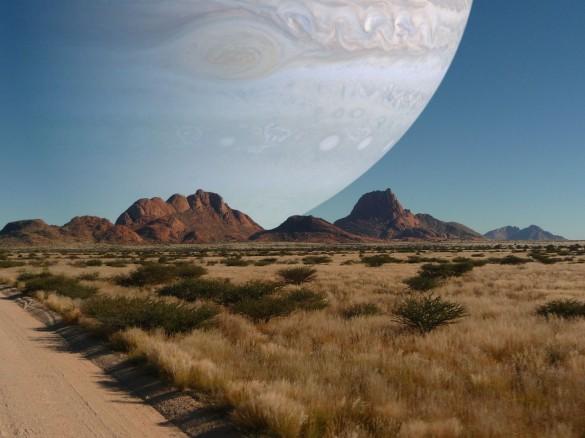 Αν ο πλανήτης Δίας ήταν στη θέση της Σελήνης | Φωτογραφία της ημέρας