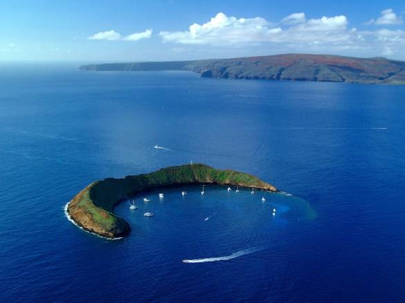 Το νησί «ημισέληνος»   Φωτογραφία της ημέρας