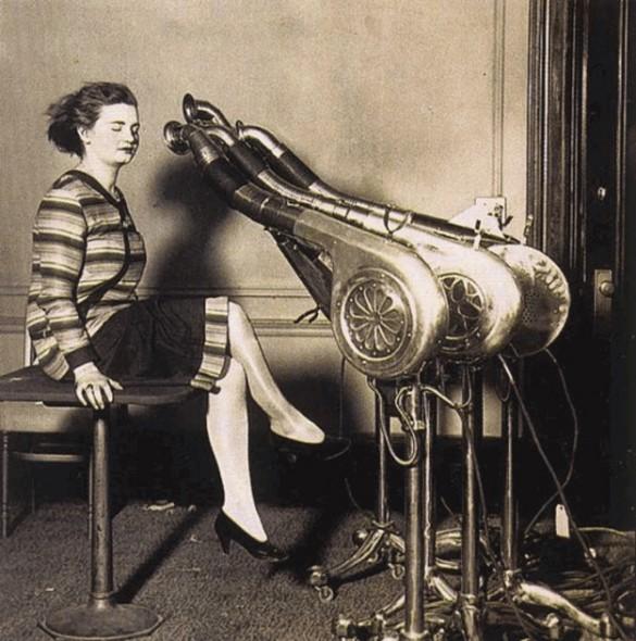Πιστολάκια μαλλιών του 1920 | Φωτογραφία της ημέρας