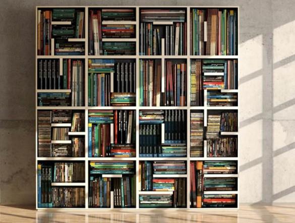 Το κρυφό μήνυμα της βιβλιοθήκης | Φωτογραφία της ημέρας
