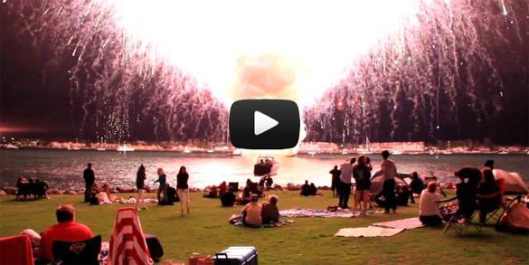 Πυροτεχνήματα όπως λέμε... ατομική βόμβα