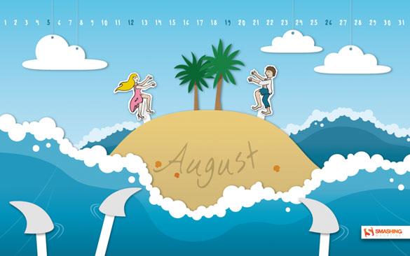 Wallpapers ημερολόγια Αυγούστου 2012 (3)