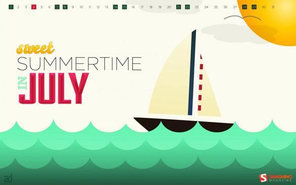 Wallpapers ημερολόγια Ιουλίου 2012 (1)
