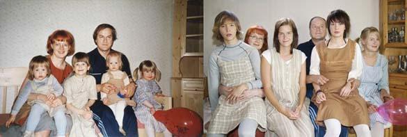4 αδερφές αναπαράγουν φωτογραφίες της παιδικής τους ηλικίας (10)