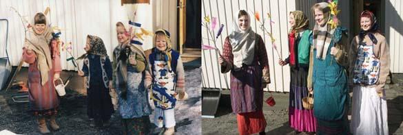 4 αδερφές αναπαράγουν φωτογραφίες της παιδικής τους ηλικίας (11)
