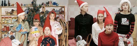 4 αδερφές αναπαράγουν φωτογραφίες της παιδικής τους ηλικίας (14)
