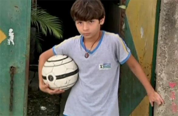 Απίστευτος 11χρονος ποδοσφαιριστής χωρίς πόδια