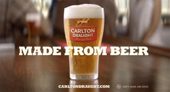 Απίθανη διαφήμιση μπύρας