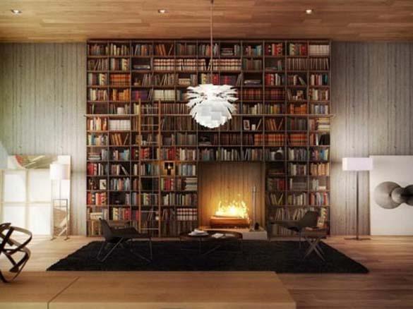 Εντυπωσιακές βιβλιοθήκες στο σπίτι (2)