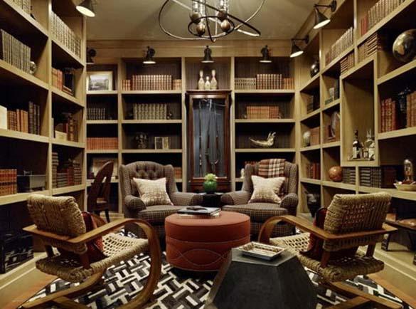 Εντυπωσιακές βιβλιοθήκες στο σπίτι (3)
