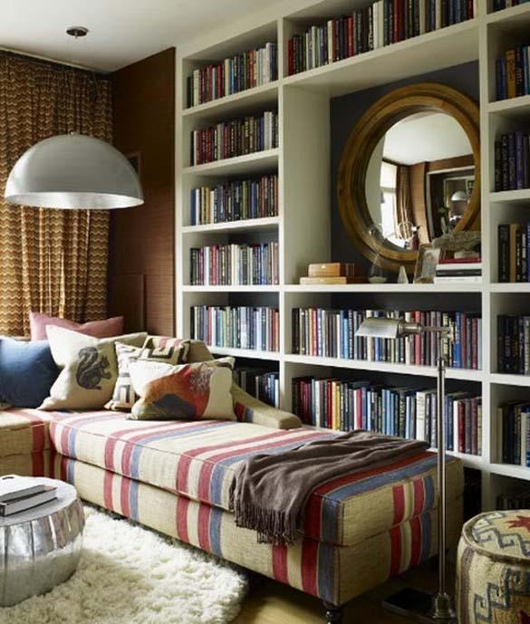Εντυπωσιακές βιβλιοθήκες στο σπίτι (4)