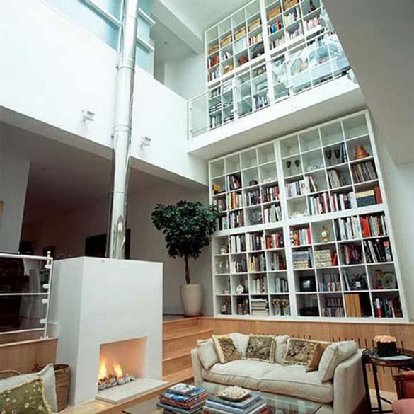 Εντυπωσιακές βιβλιοθήκες στο σπίτι (5)