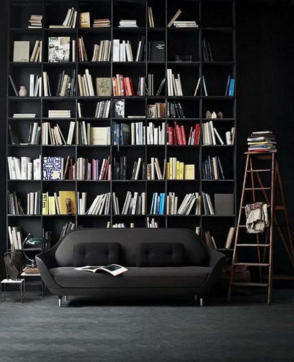 Εντυπωσιακές βιβλιοθήκες στο σπίτι (6)