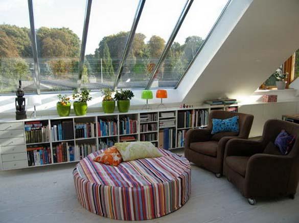 Εντυπωσιακές βιβλιοθήκες στο σπίτι (7)