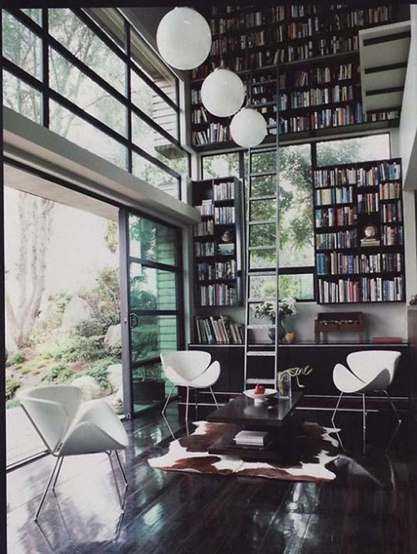 Εντυπωσιακές βιβλιοθήκες στο σπίτι (8)
