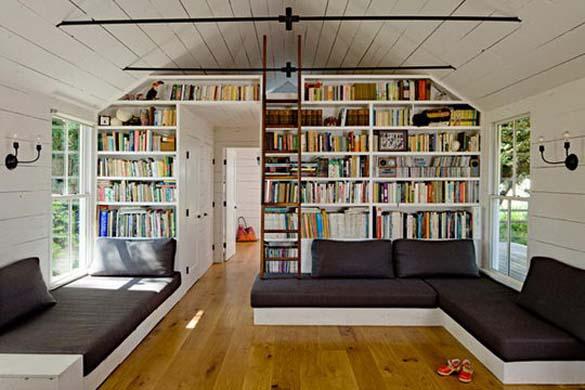 Εντυπωσιακές βιβλιοθήκες στο σπίτι (9)